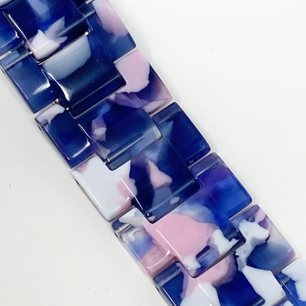 Apple Watch Band in Pink and Purple