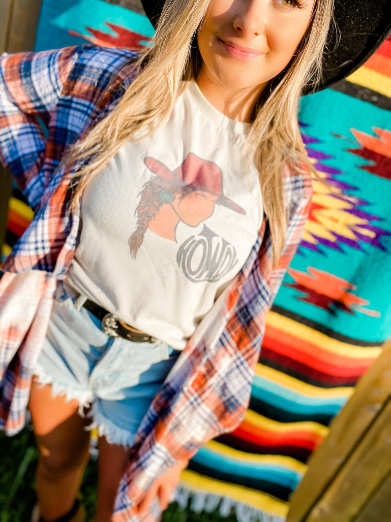 """Howdy Gal"" Graphic Tee"
