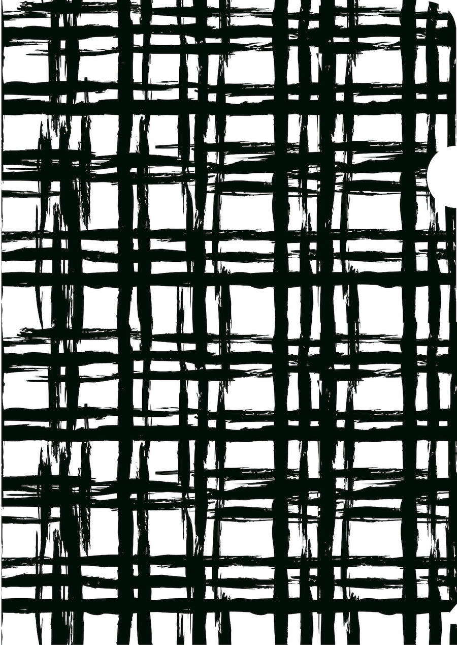 Black & White Checks Document Cover