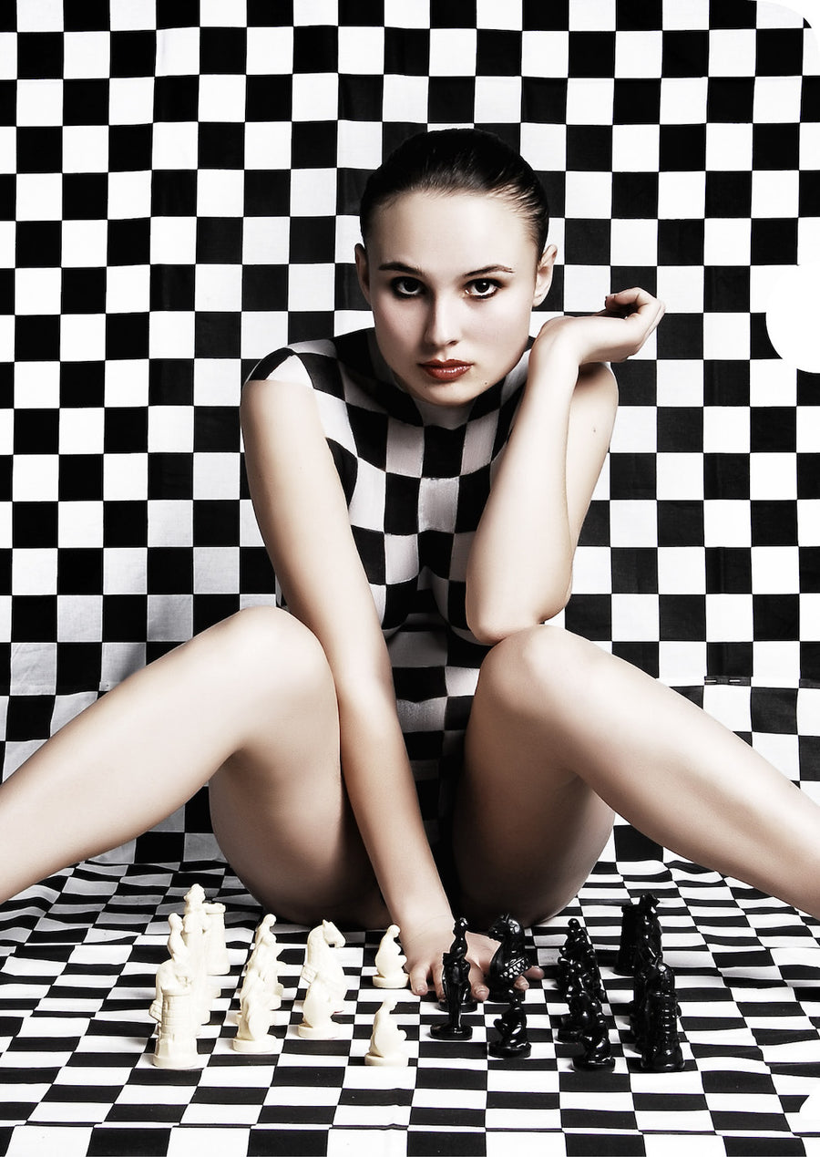 Checkerboard Girl Document Cover