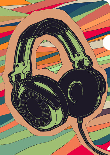 Headphones Document Cover