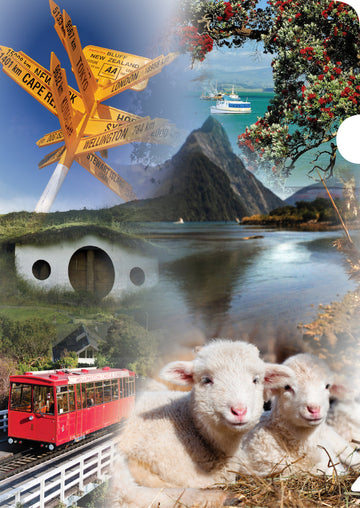 NZ Collage Document Cover