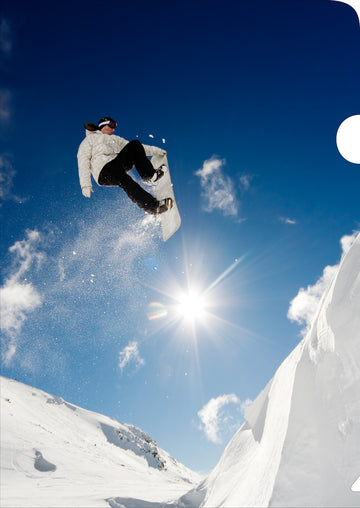 Snowboarder Document Cover