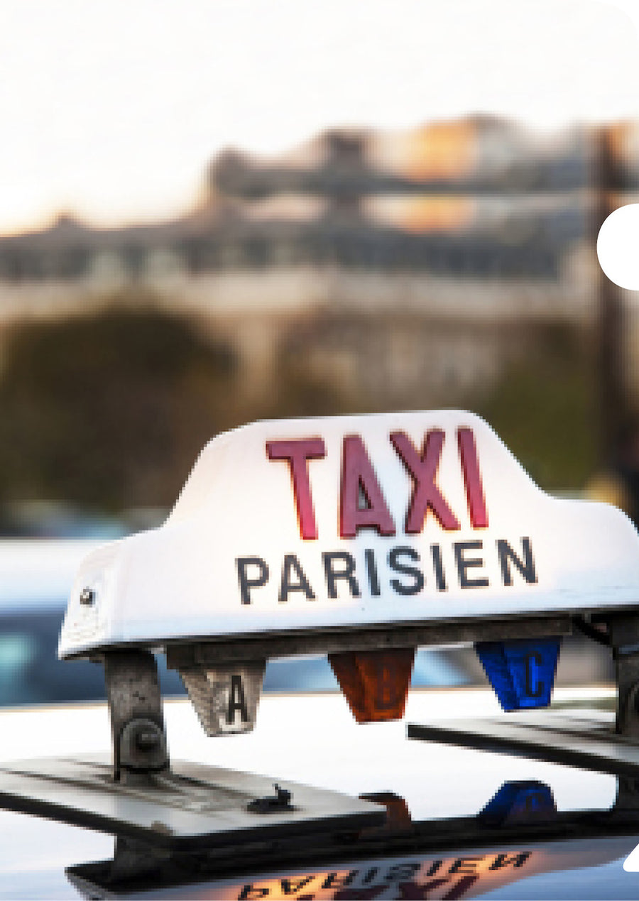 Parisien Taxi Document Cover