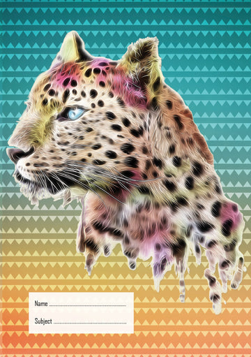Leopard Exercise Book Cover