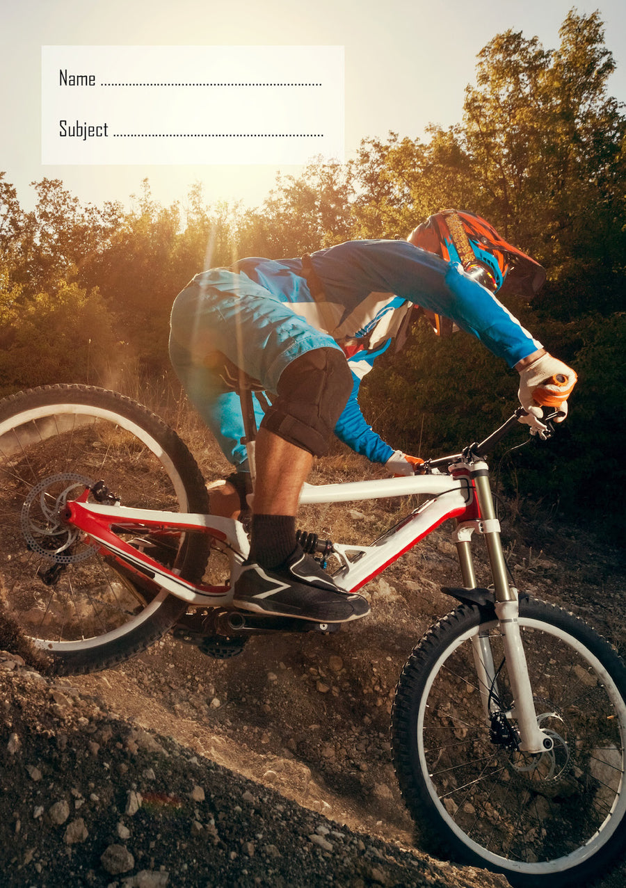 Mountain Bike School Book Cover