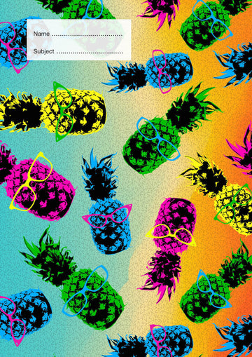 Pineapples School Book Cover