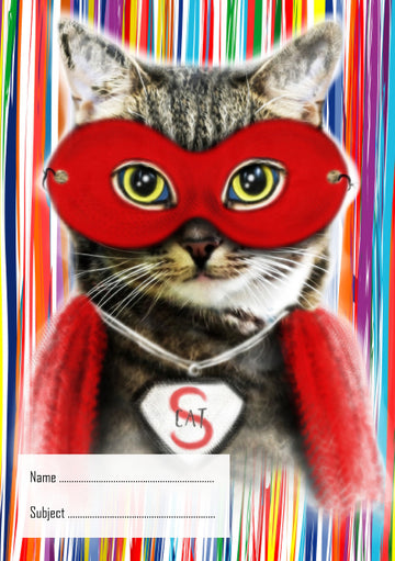 Super Cat School Book Cover