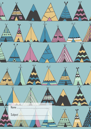 Teepees School Book Cover