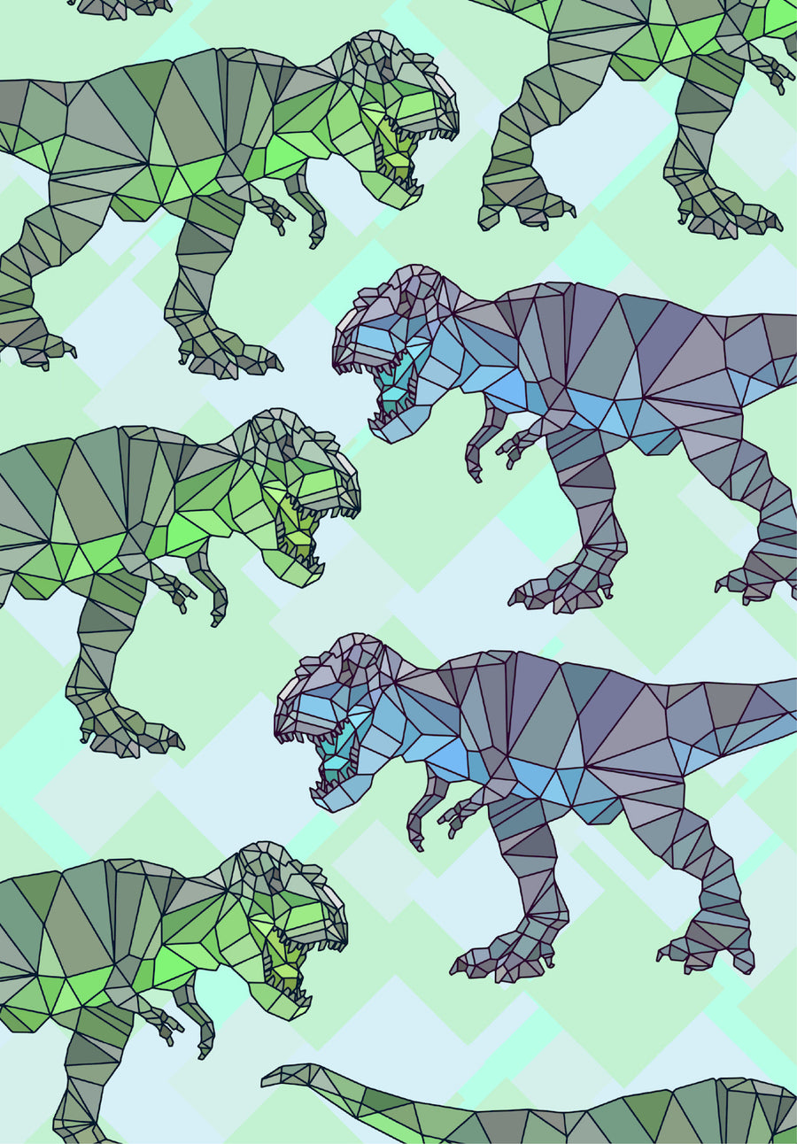 Dinosaur Well Child Notebook Cover