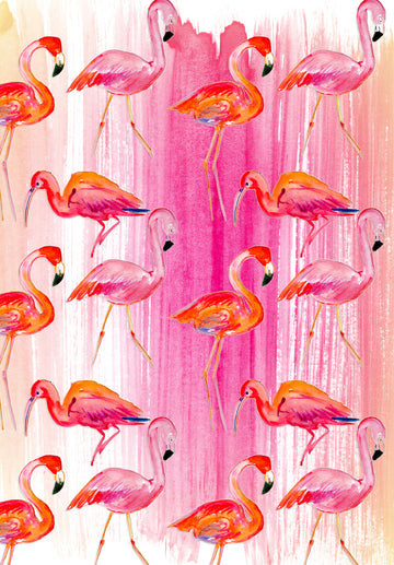 Flamingo Well Child Notebook Cover