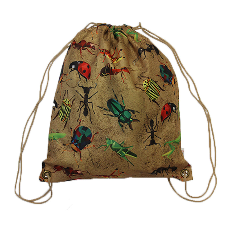 Swim Gym Bag Insects
