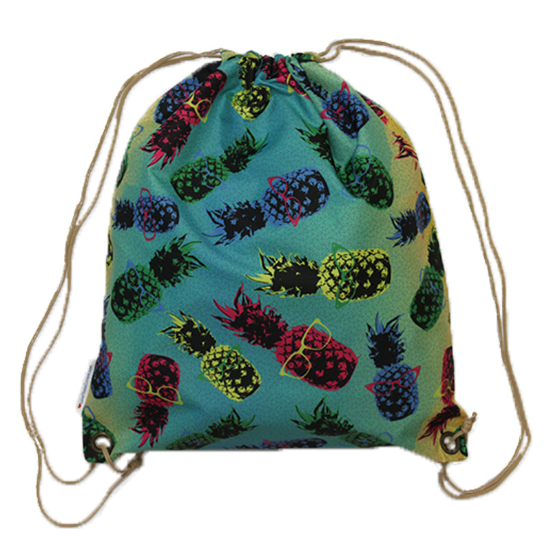 Swim Gym Bag Pineapples