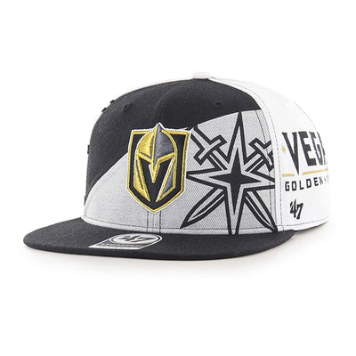 '47 Brand Vegas Golden Knights Captain Patchwork Hat