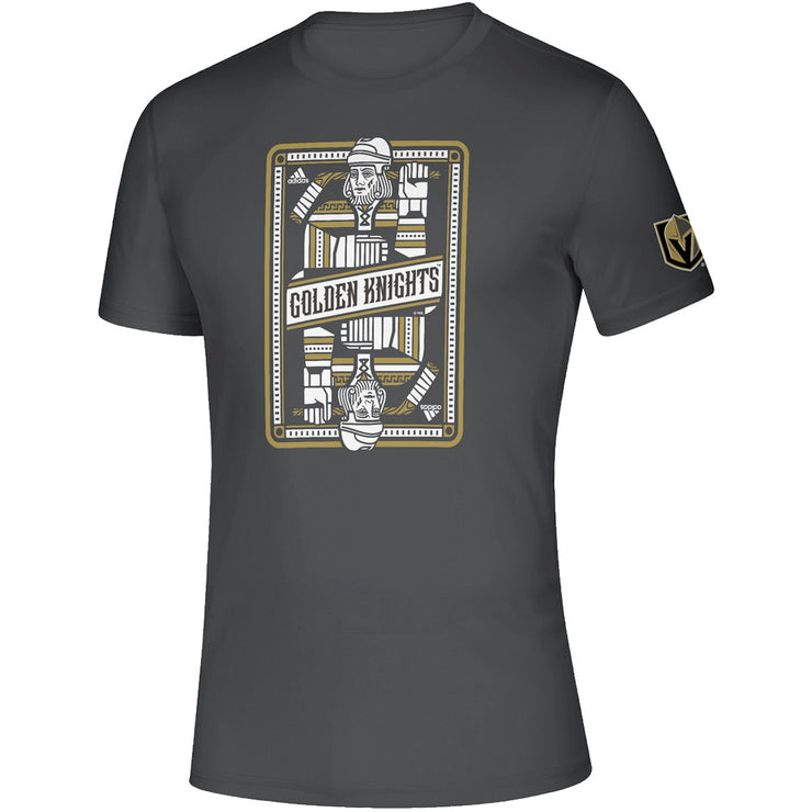 Vegas Golden Knight Adidas Straight Crush T-shirt