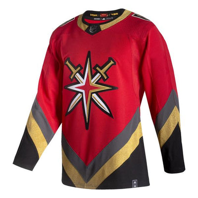 Vegas Golden Knight Adidas Authentic Reverse Retro Jersey