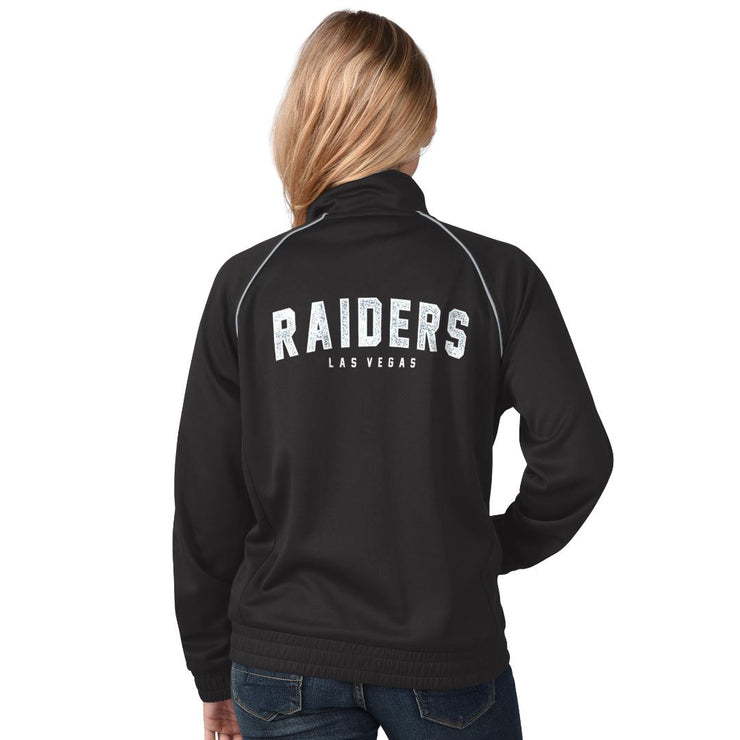 Las Vegas Raiders Glitter Power Play Jacket
