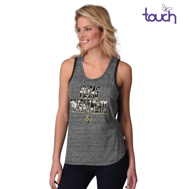 Vegas Golden Knight Sequin Tank