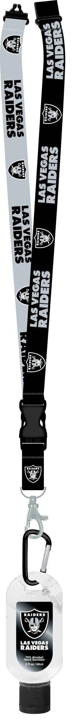 Las Vegas Raiders Sanitizer Lanyard