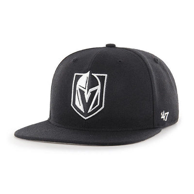 '47 Fitted Vegas Golden Knight Black w/ White Pro Wool