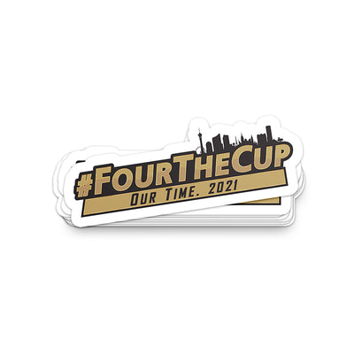 #FourTheCup Sticker