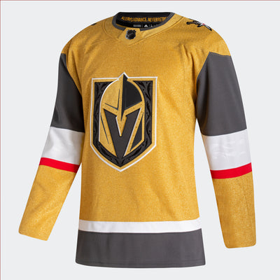 Vegas Golden Knight Authentic Adidas GOLD Jersey