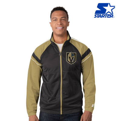 "Vegas Golden Knight ""Charger"" Full Zip Track Jacket"