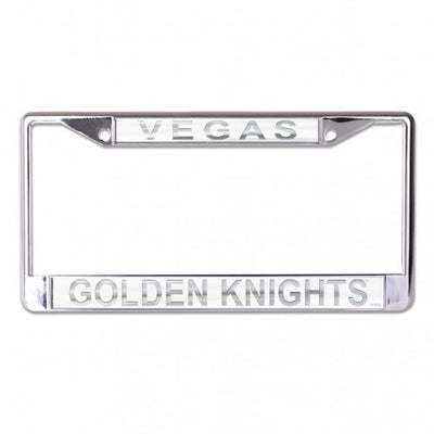 VGK Frosted License Plate