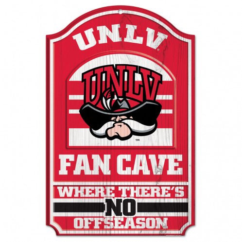 UNLV Fan Cave Wood Sign