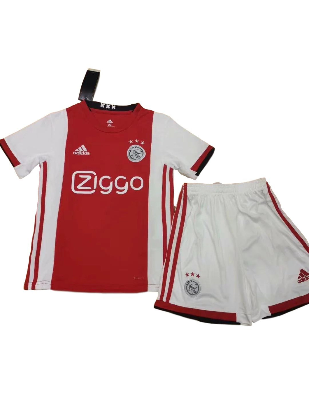 Camisa e Shorts Ajax Home Infantil 19/20