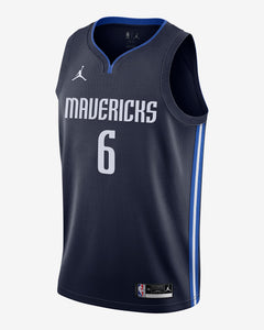 Camisa Regata Basquete Dallas Mavericks Kristaps Porzingis #6
