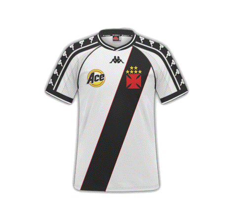 Camisa Vasco II Retrô 2000