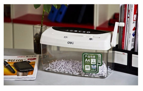 Deli 9935 manual shredder