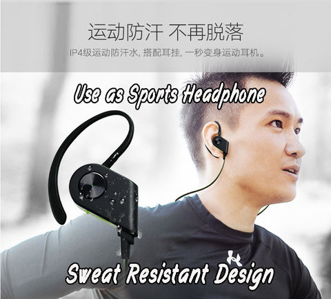 K1 use as sports earphone