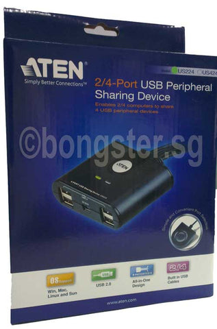 Aten 2/4 port USB Peripheral sharing device
