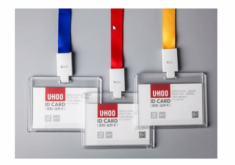 UHOO 6615 ID tag with different lanyard colours