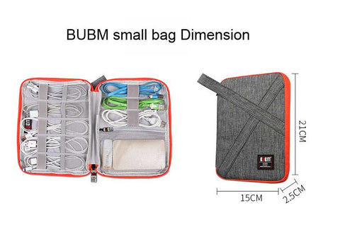 BUBM zipper bag small dimension