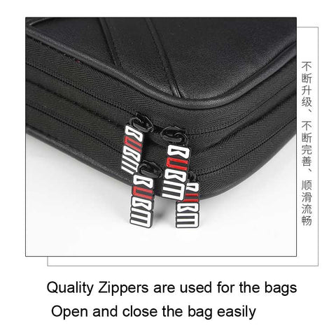 BUBM bags with good quality zippers
