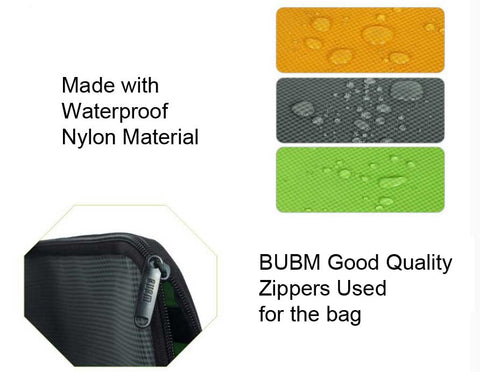 BUBM zipper bag features