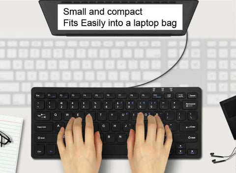 BOW keyboard compact size