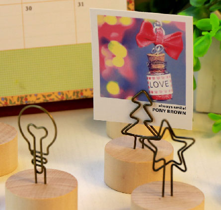 memo stand card holder