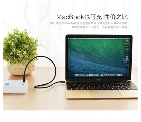 ugreen cable charging macbook