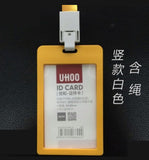 UHOO 6623 /6624 ID card Namecard card holder with lanyard
