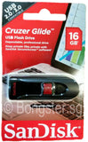 16GB Sandisk Cruzer Glide USB2.0 Flash drive