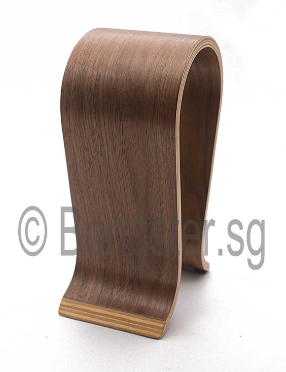 Wooden headphone stand holder Model A