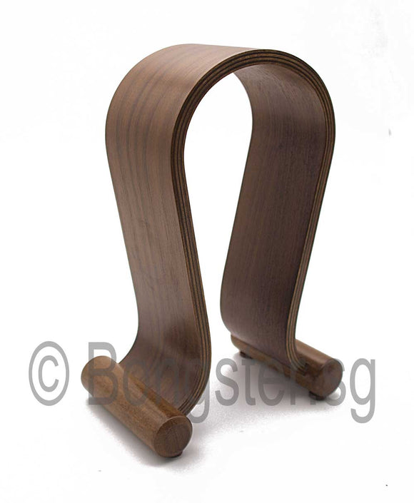 Wooden headphone stand holder Model B
