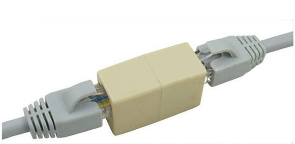 Cat5E RJ45 Ethernet Coupler plug LAN Cable Extender