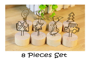 8 Pieces Memo Photo Holder