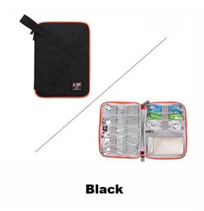 BUBM Cable Organizer Zipper Bag Small