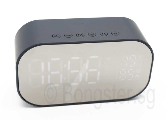 Norsee V5 Bluetooth speaker with time temperature battery status display